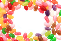 Candy jelly beans Royalty Free Stock Photo