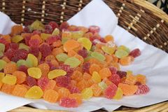 Candy jelly Stock Photography