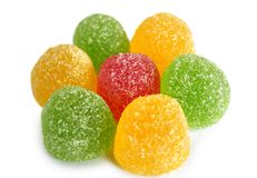 Candy jujube Royalty Free Stock Photos