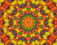 Candy Kaleidoscope Stock Image