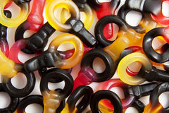 Candy keys Stock Photos