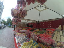 Candy kiosk stock image