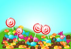 Candy land Stock Photography