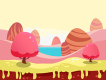 Candy Land Vector Royalty Free Stock Images
