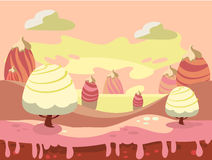 Candy Land Vector Royalty Free Stock Image