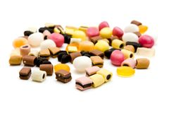 Candy with licorice Royalty Free Stock Photography