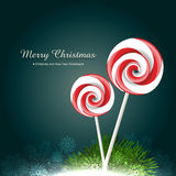 Candy lollipop Royalty Free Stock Photo