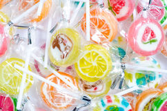 Candy lollipops. Royalty Free Stock Photos