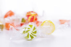 Candy lollipops Royalty Free Stock Images