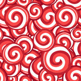 Candy lollipops seamless pattern Stock Photography