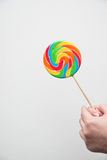 Candy lolly-pop. On white background Royalty Free Stock Images