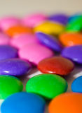 Candy that looks like medicine. Macro shot of candy that looks similar to pills Royalty Free Stock Image