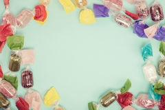 Candy. A lot of Candy.background.material Stock Photography