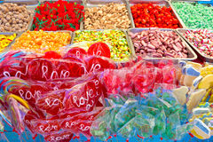 Candy. Lots of candy for sale,photography Stock Images