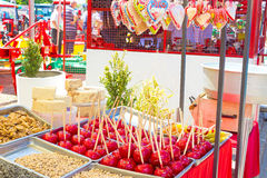 Candy. Lots of candy for sale,photography Royalty Free Stock Image