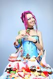 Candy lover Royalty Free Stock Photos
