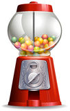 Candy machine. Close up antigue design of candy machine Stock Images