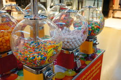 Candy machines Stock Image