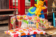 Candy made from sugar. Colorful candy made from sugar royalty free stock photo