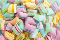 Candy in many colors Royalty Free Stock Photo