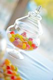 Candy. Many colourful wedding party candy Stock Photo