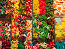 Candy at the market Stock Photos