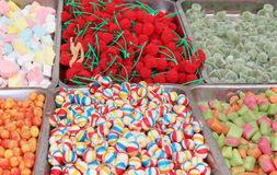 Candy market Royalty Free Stock Image