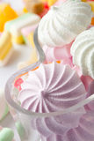 Candy and meringues Stock Photography