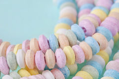Candy necklace Stock Photos