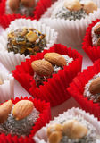 Candy with nuts Royalty Free Stock Images