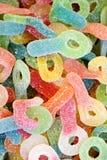 candy objętych galaretkę cukru Zdjęcia Stock