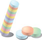 candy pastel Zdjęcie Stock