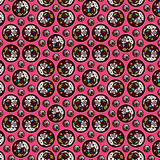 Candy pattern. Pattern made of candies, icecreams, lolypops Royalty Free Stock Photo
