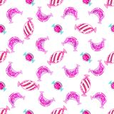 Candy Pattern. Colourful Vector Illustration. Glossy Candy Pattern bright color. Colourful Vector Illustration royalty free illustration