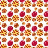 Candy pattern Stock Image