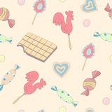 Candy pattern Royalty Free Stock Photos