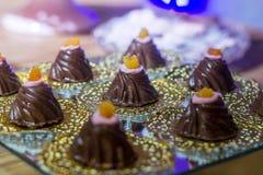 Candy per la festa di compleanno fotografia stock libera da diritti