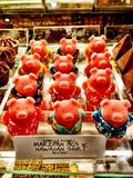 Candy pigs Royalty Free Stock Image