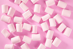 Candy pink marshmallow sweets pattern texture Stock Photos