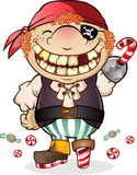 Candy Pirate Costume Royalty Free Stock Images