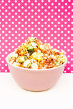 Candy popcorn and dots Stock Photos