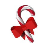 Candy with red ribbon Royalty Free Stock Photos