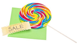 Candy Sale Royalty Free Stock Image