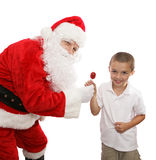 Candy From Santa Royalty Free Stock Image