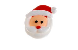 Candy Santa Face Macro Royalty Free Stock Photography
