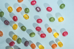Candy scattered Stock Image