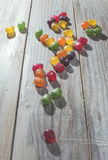 Candy scattered Stock Photos