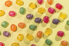 Candy scattered Stock Photography