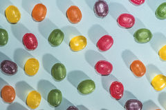 Candy scattered Royalty Free Stock Images