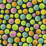Candy seamless pattern Stock Images